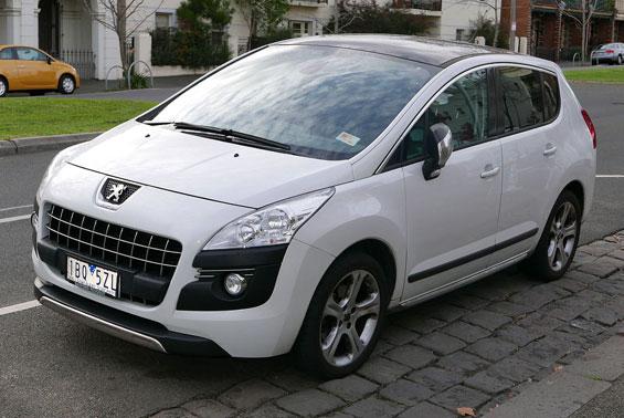 Peugeot 3008 Crossover car model
