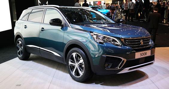 Peugeot 5008 MPV car model