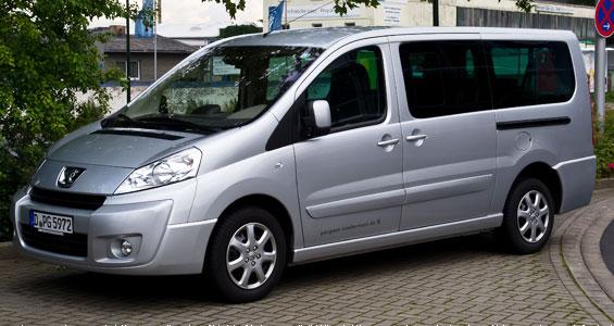 Peugeot Expert Tepee car model