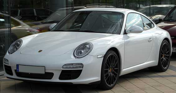 Porsche 911 car model