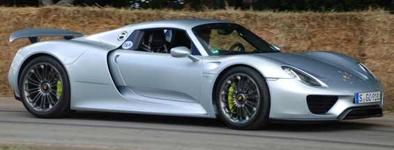Porsche 918 Spyder car model