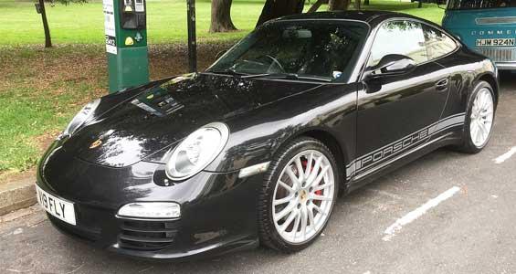 Porsche 997 car model