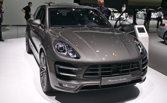 Porsche Macan car model