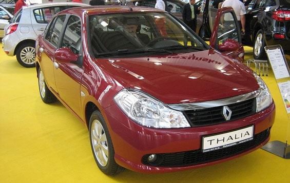 Renault Symbol car model