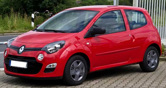 Renault Twingo car model