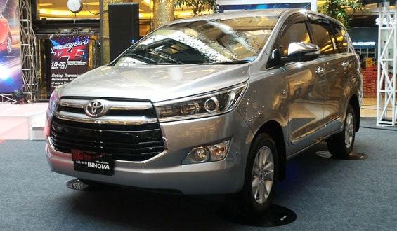 Toyota Innova car model