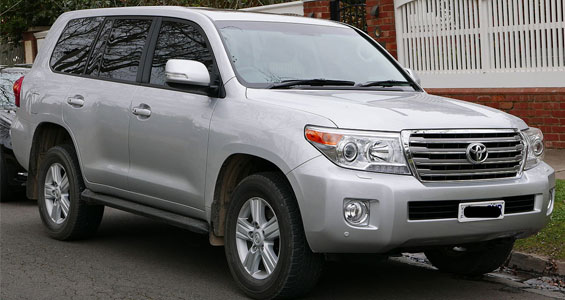 Toyota Land Cruiser car model