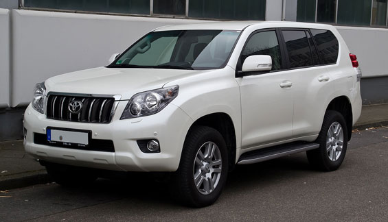 Toyota Prado car model
