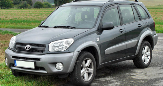 Toyota Rav4 ca model