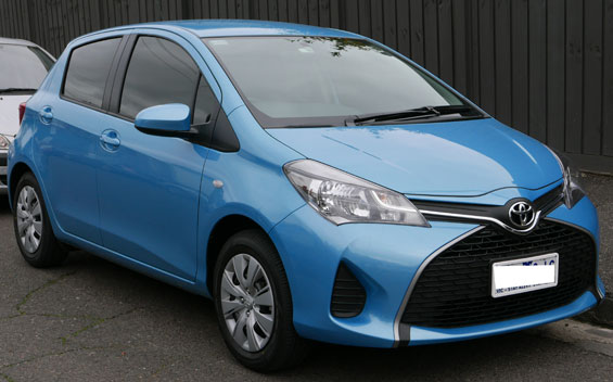 Toyota Yaris hatchback car model review