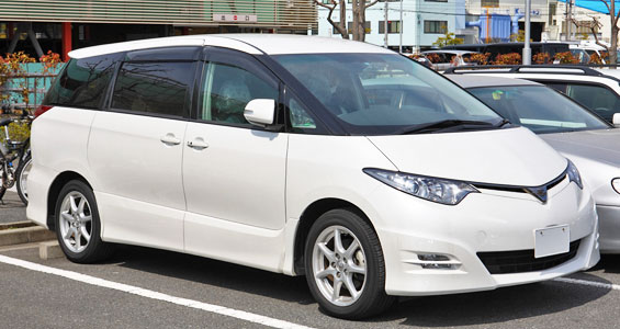 Toyota Previa car model