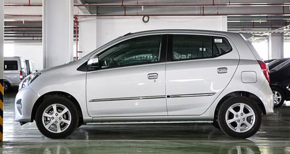 Toyota wigo car model