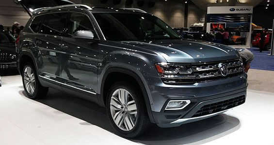 Volkswagen Atlas car model
