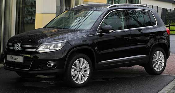 Volkswagen Tiguan car model