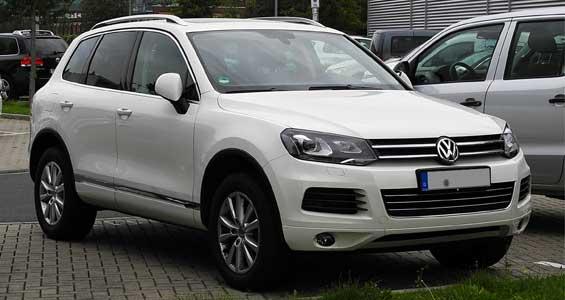 Volkswagen Touareg car model