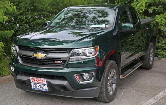 Chevrolet Colorado car model