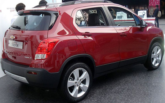 Chevrolet Trax car model