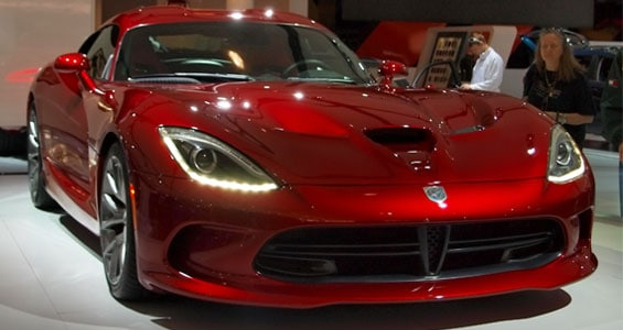 Dodge SRT Viper car model