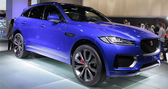 Jaguar 2018 F-PACE car model