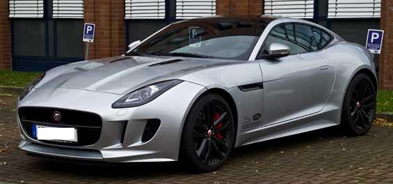 Jaguar F-TYPE car model