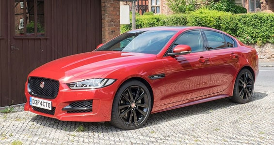 Jaguar XE car model