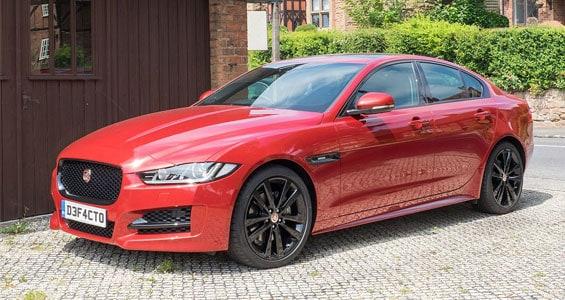 Jaguar XE car model