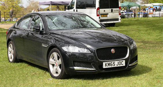 Jaguar XF car model