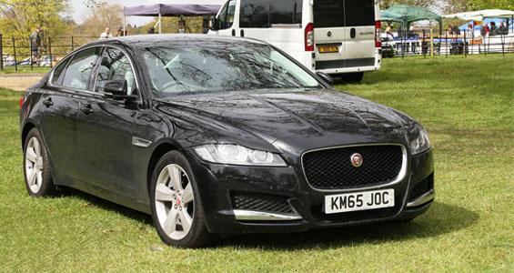 Jaguar XF car model