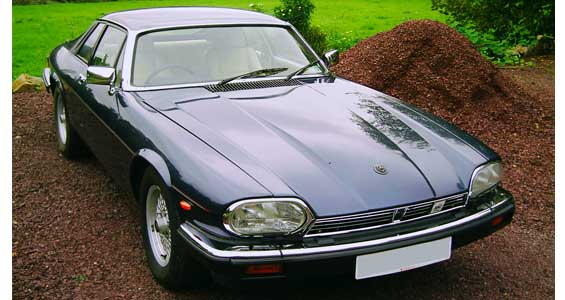 Jaguar XJ-S car model