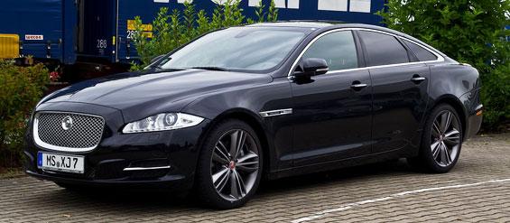 Jaguar XJ car model