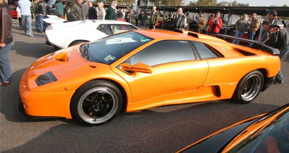 Lamborghini Diablo car model