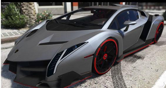 lamborgini Veneno car model