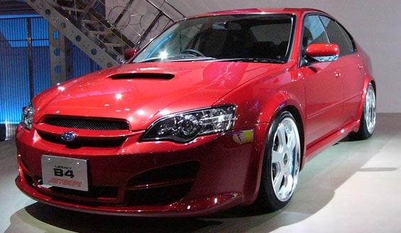 Subaru Legacy car model