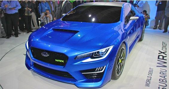 Subaru WRX car model