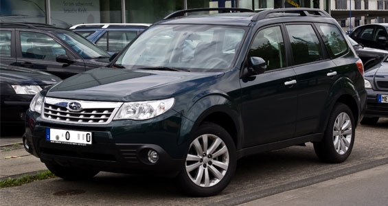 Subaru Forester car model
