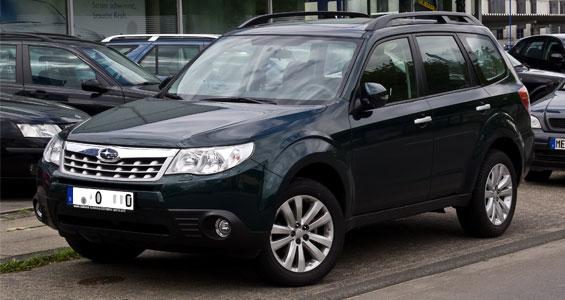 Subaru Forester car model