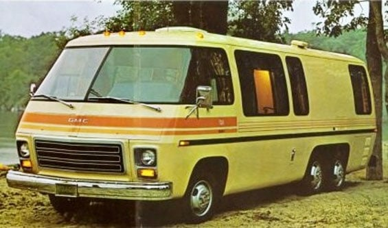 GMC Motorhome Car Model