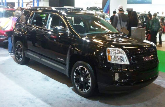 GMC Terrain car model