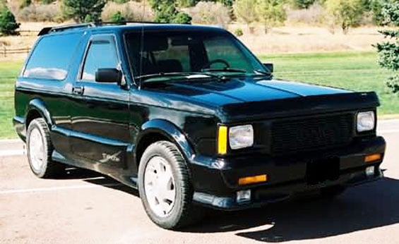GMC Typhoon Car Model