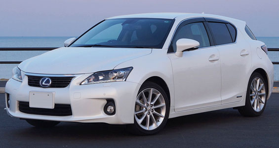 Lexus CT Car Model