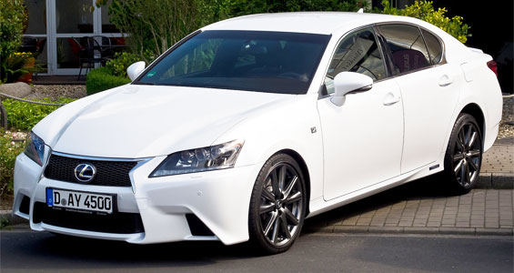 Lexus GS Car Model