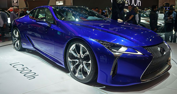 Lexus LC car model