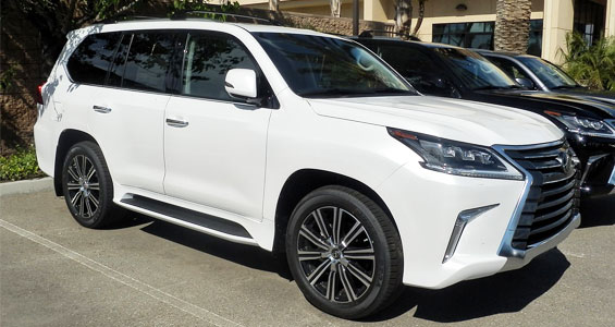 Lexus LX Car Model