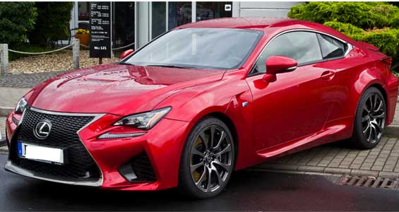 Lexus RC-F car model