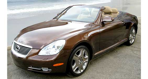 Lexus SC car model