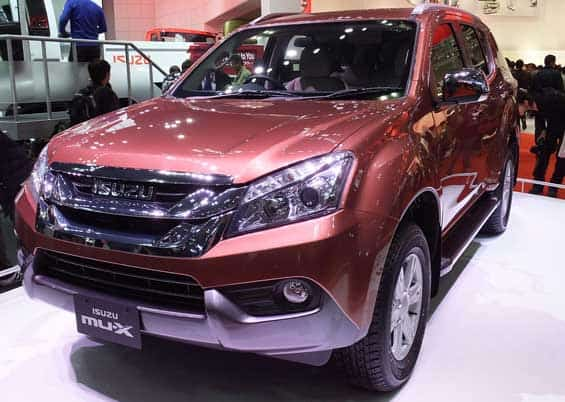 Isuzu MU-X car model