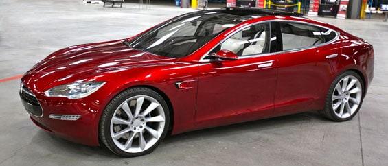 Tesla Model S car model