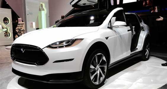 Tesla Model X car model