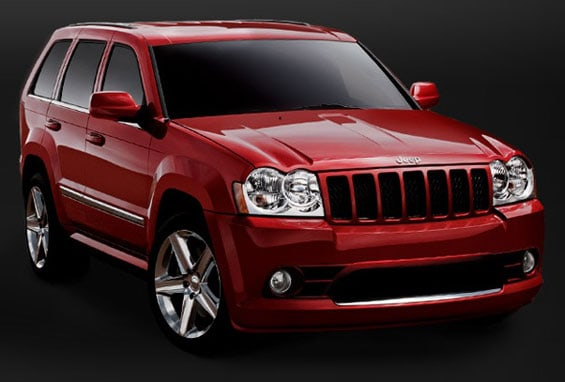Jeep Grand Cherokee SRT car model