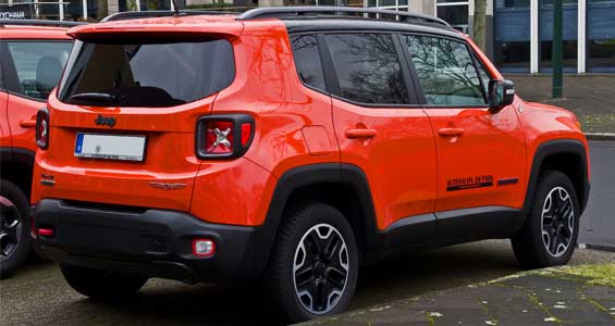 Jeep Renegade car model